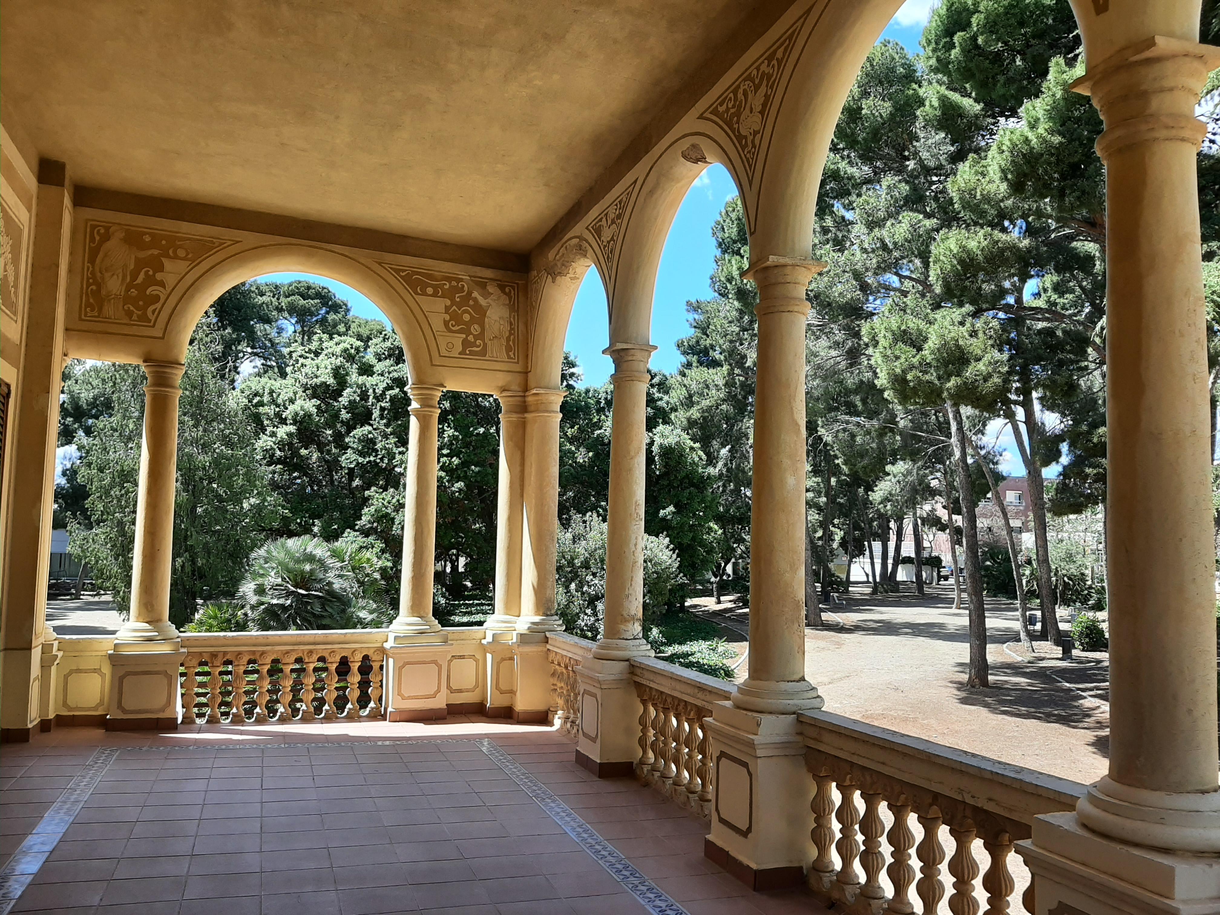 El balcó del Mas Carandell
